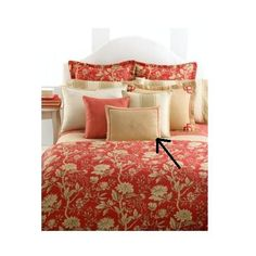 Lauren by Ralph Lauren Villa Camelia Pillow - Applique Bedding Sets, Applique, Bedroom Decor, Villa, Ralph Lauren, Pillows, Furniture, Home Decor, Bed Pillows