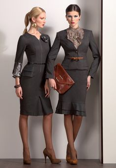 Skirt suits ♥✤ | Keep the Glamour | BeStayBeautiful