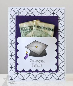 Graduation Money Card by Shelly Mercado