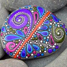 Идея росписи камня