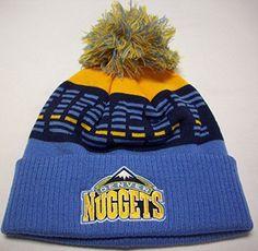 9344cf22889d9 Denver Nuggets Cuffed Knit Hat by Adidas