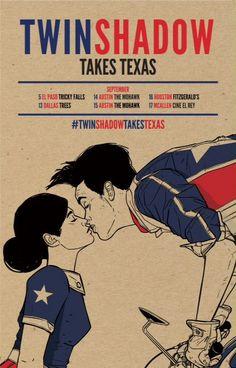 Twin Shadow Takes Texas!