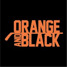 """""""Orange and Black"""" Black T-shirt $19.99 ONLY AT http://www.barktees.com"""