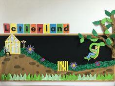 Letterland - Golden Girl's Garden Activities For Girls, Pre K Activities, Display Boards, Golden Girls, Classroom Decor, Open House, Language Arts, Montessori, Curriculum