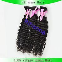 Unprocessed hair,unprocessed virgin malaysian curly wave human hair extensions
