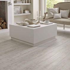 White Painted Oak Karndean Knight Tile Flooring: KP105