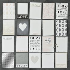 @Jennifer Johnernewest cards.. perfect for project life!