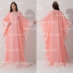 Wholesale 2015 Dresses - Buy Arabic Dubai Kaftan 2015 Mother Of Bride Groom Dress Peach Coral Prom Dresses Chiffon Lace Long Sleeves Lace Muslim Evening Gowns BZP0408, $126.39 | DHgate.com