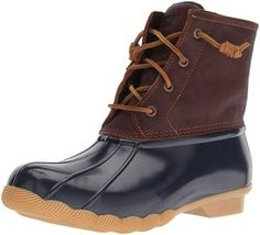 online shopping for Sperry Women's Saltwater Rain Boot from top store. See new offer for Sperry Women's Saltwater Rain Boot Nike Fashion, Sneakers Fashion, Fashion Boots, Fashion Women, Duck Boots, Rain Boots, Women's Boots, Saltwater Duck Boot, Top Sider