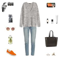 """""""Art group day"""" by fleurdumal91 ❤ liked on Polyvore featuring Steve Madden, Areaware, Casetify, Frame Denim, Quay, TokyoMilk, H&M, Topshop, Rodin Olio Lusso and NARS Cosmetics"""