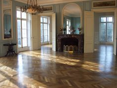 Floor in Paris apartment