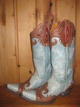 Old Gringo Taka Aqua Boots.  L814-2