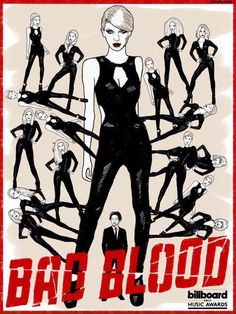 Bad Blood, Taylor Swift poster