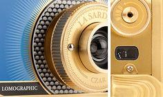 Lomography - La Sardina Metal Caviar Edition by Montserrat Llaurado, via Behance