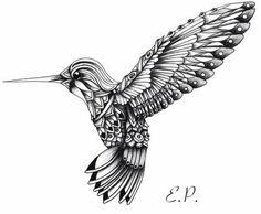 Mandala bird