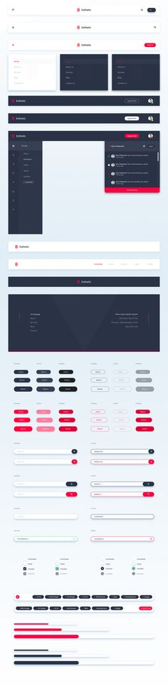 Modern, clean and minimalistic UI Kit to upgrade your projects with over 500 elements to choose. Everything was made with a detail oriented style and followed by today's web trends. Layers are well-organized, carefully named & grouped. The pack contains 1…