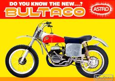 Motocross Tracks, Motocross Bikes, Vintage Motocross, Motorcycle Posters, Motorcycle Art, Bike Art, Bultaco Motorcycles, Cool Motorcycles, Vintage Motorcycles