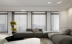 photo: Automated Window Blinds Has Two Home Automation Benefits