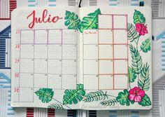 Los mundos de Mentx: Calendario de Julio / July Calendar