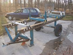Auto Frame Table Chassis Jig Diy Projects Welding And