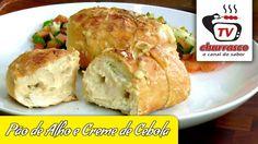 Receita de Pão de Alho e Creme de Cebola - Tv Churrasco