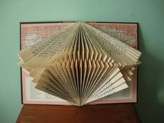 Folded book design by Exploded Libray