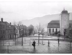 Nykirkeallmenningen en grå dag rundt år 1890. Foto: Knud Knudsen - UBB Billedsamlingen. ga 12th Century, The St, Capital City, Bergen, West Coast, Norway, Medieval, Survival, Mountains