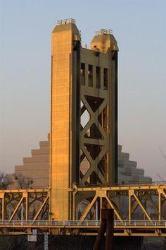 Sacramento Tower Bridge, Sacramento California