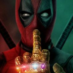 A message from Deadpool to Thanos - Marvel Comics Thanos Marvel, Marvel Dc Comics, Ms Marvel, Marvel Avengers, Marvel Cartoons, Disney Marvel, Art Deadpool, Marvel Heroes, Deadpool Wallpaper