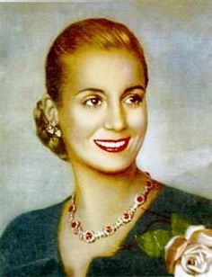 María Eva Duarte de Peron was a poor, illegitamite child who grew up to become the First Lady of Argentina. More commonly known as Eva Perón, her controversial life was the subject of Andrew Lloyd Webber's musical, Evita. Le Siecle, Color Blending, Women In History, Famous Women, Famous People, Film, Amazing Women, Cross Stitch Patterns, World