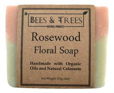 Bees & Trees - Rosewood Floral Soap