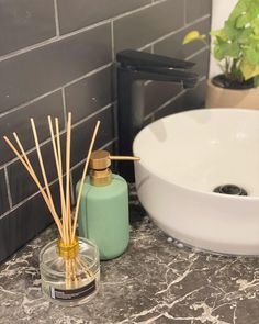 Little bathroom addition 🤗  #diffuser #local Diffusers, Soy Candles, Decor Ideas, Bathroom, Home Decor, Washroom, Homemade Home Decor, Bath Room, Bathrooms