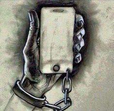Pesado somos presos na tecnologia