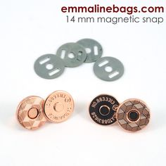 Apparel Sewing & Fabric Arts,crafts & Sewing Trustful Free Shipping 4 Sets Buttons Magnetic Rivet Stud Purse Snap Clasps/ Closure For Purse Handbag 14mm Bright Luster
