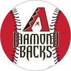 """Arizona Diamondbacks 12"""" Vinyl Magnets"""