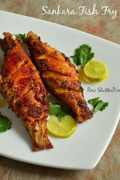sankara meen varuval, fish fry recipes, how to make fish fry, red snapper fish fry step by step pictures with recipe Whole Red Snapper Recipes, Whole Fish Recipes, Indian Fish Recipes, Fried Fish Recipes, Salmon Recipes, Fried Snapper Recipe, Fried Red Snapper, Red Snapper Fish Tacos Recipe, Skinny Meals