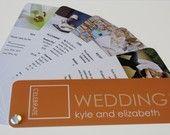 Swatchbook Wedding Invitation