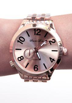bronze watch!