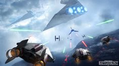 Battlefront wallpaper - spaceships