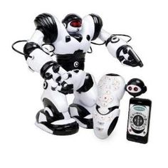 Robosapien X Robot Kit Android Remote Compatible Kids Electronic Control Gift… Hashtags: