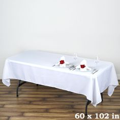Style up your Rectangle Wedding or Banquet Tables with our Premium Quality Polyester Rectangle Tablecloths. A wide range of colors and sizes at discount! Checkered Tablecloth, Tablecloth Sizes, Linen Tablecloth, Wedding Tablecloths, Wedding Table Linens, Table Wedding, Wedding Ideas, Wedding Reception, Shopping