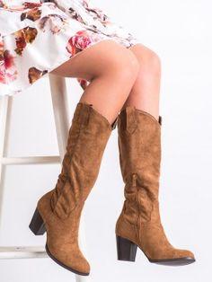 Elegantné čižmy kovbojky Steve Madden, Knee Boots, Booty, Ankle, Shoes, Products, Fashion, Tatoo, Moda