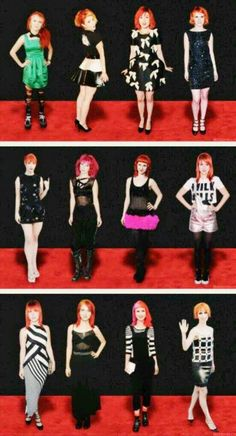 Hayley Williams on the Red Carpet Paramore