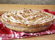 Cinnamon Roll Dutch Apple Pie - they took 2 of my most fav's and put it together!! I can not wait to try this one!