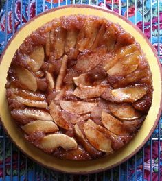Upside - Down Apple Cake