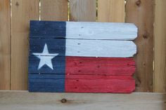 Rustic art painted on weathered wood by FenceArt on Etsy. Texas pride..I like. Go check this artist out!