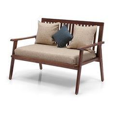 wooden sofa sofas and products on pinterest