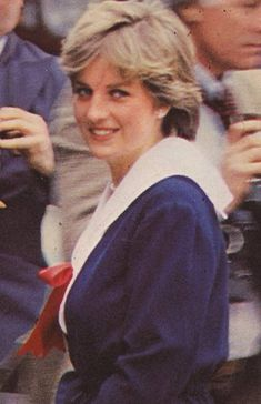 Lady Diana Spencer.