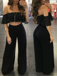 Teen Fashion Outfits, Mode Outfits, Dress Outfits, Girl Fashion, Girl Outfits, Fashion Dresses, Jumpsuit Outfit, Gothic Fashion, Cute Casual Outfits