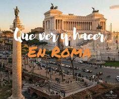 Te contamos todo lo que podes ver y hacer en tu estadía por la capital italiana. Iglesias, mercadillos, Museos, lugares turísticos, compras y más!